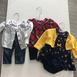 Nice baby girl clothes bundle 🥰🎀❤️
